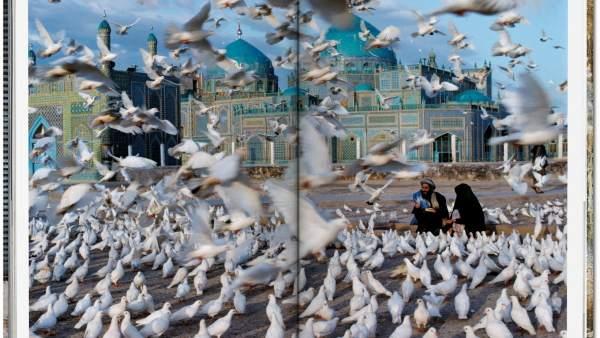 Una de las hermosas imágenes incluidas en el libro 'Afghanistan'