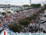 Manifestación en Cambrils contra el terrorismo