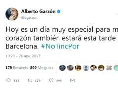 Mensaje de Garzón