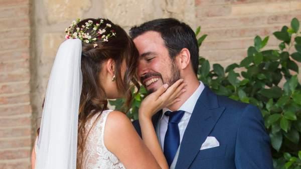 Garzón se casa con Anna Ruiz
