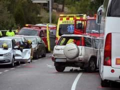 Diez fallecidos y tres heridos en las carreteras durante el fin de semana