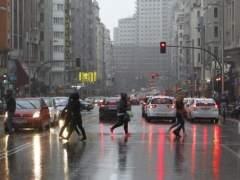 Lluvia generalizada en casi toda España con temperaturas más bajas