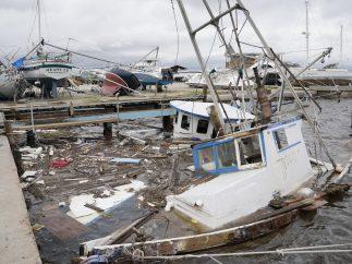Daños en las embarcaciones