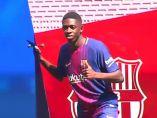 Dembélé ya es jugador del Barça