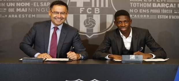 El Barça ya conocía la indisciplina de Dembélé antes de ficharlo: