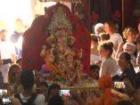Ganesh en el santuario de Ceuta