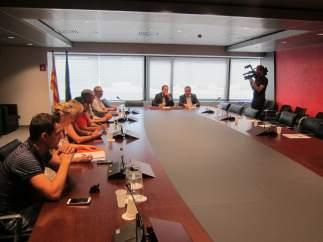 Segunda jornada de mediación en la Generalitat