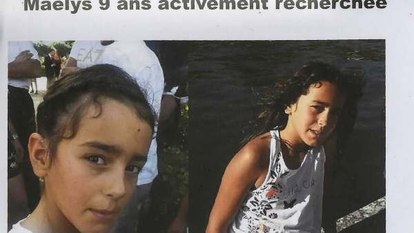 Niña perdida en Francia