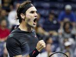 Victoria trabajada de Federer