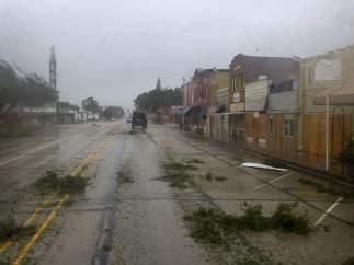 Texas al paso del huracán Harvey