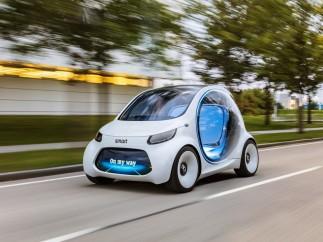 Nuevo prototipo autónomo de Smart