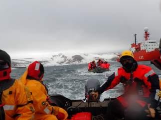 Imagen de la XXX Campaña Antártica española.