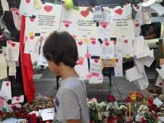 Un homenaje del atentado de La Rambla