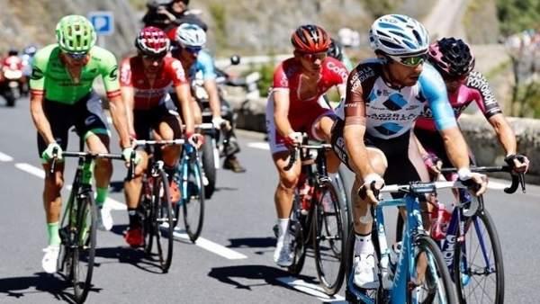 Nibali en la tercera etapa de la Vuelta a España