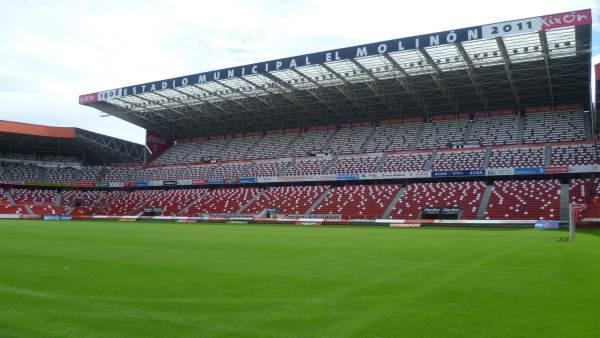 El Molinón, estadio del Sporting de Gijón