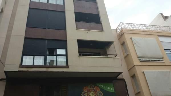 Edificio en el que han sucedido los hechos en Elda (Alicante)