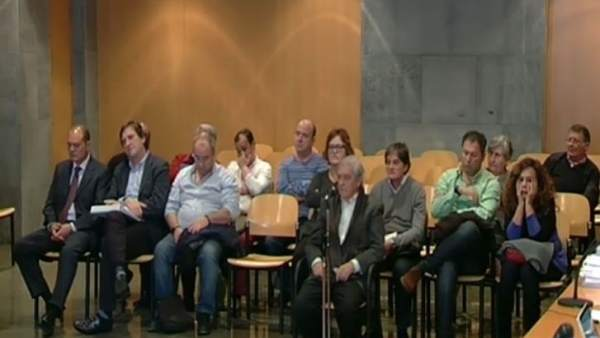 José Luis Iglesias Riopedre, durante su declaracion en el caso Marea.