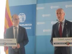 Jordi Turull y Josu Erkoreka