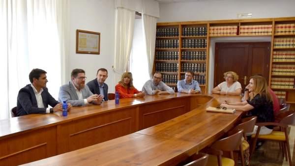 Nota De Prensa Consejería De Agricultura, Pesca Y Desarrollo Rural (Reunión Alve