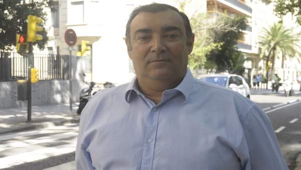 El portavoz de Movilidad de Cs Zaragoza, Alberto Casañal.