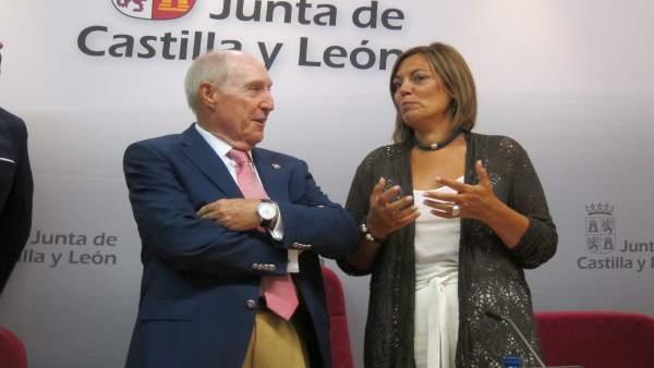 José Ramón Perán y Milagros Marcos.