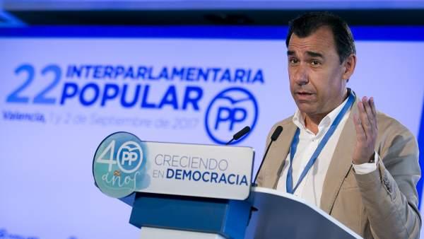 Fernando Martínez-Maillo en la Inauguración XXII Interparlamentaria del PP