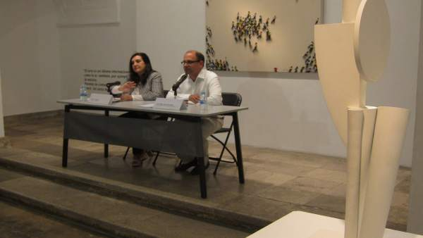 Presentación de la exposición 'Ver/Mirar' en la Sala de la calle Pasión