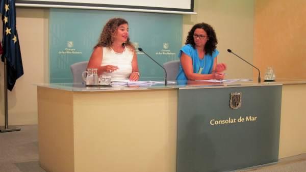 Pilar Costa y Catalina Cladera