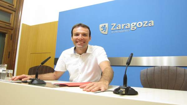 El consejero municipal de Urbanismo, Pablo Muñoz, hoy en el Ayuntamiento
