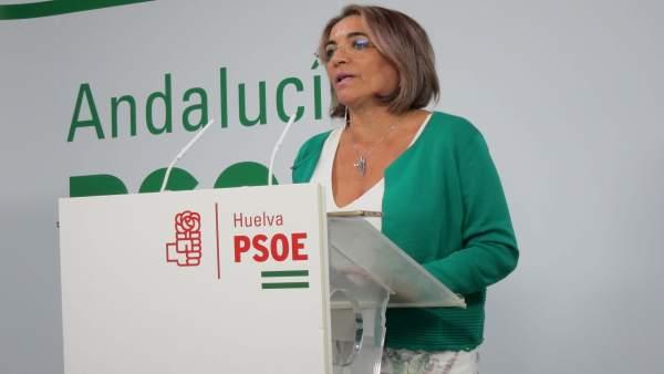 Pepa González Bayo, en rueda de prensa.