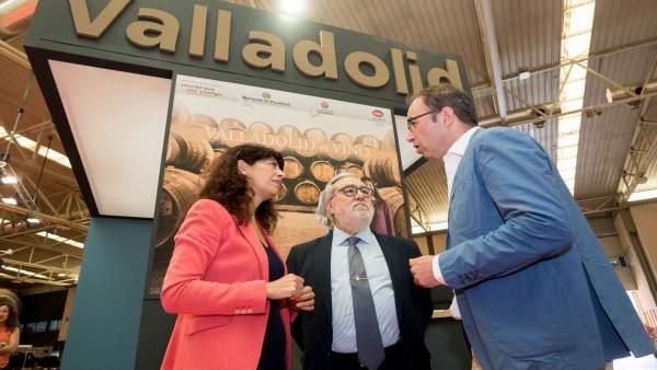 Valladolid. Stand de la Feria de Muestras