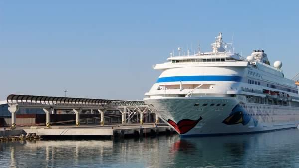 Crucero en el puerto de Málaga