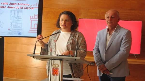 Sánchez y Ortiz tras la Junta de Gobierno