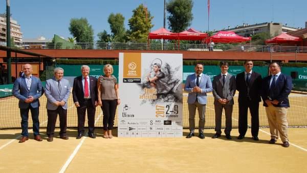 Presentación de la Copa Sevilla ATP Challenger de Tenis