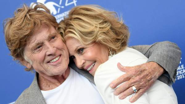 Robert Redford y Jane Fonda