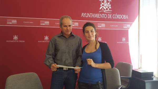 Vicky López y Rafael Blázquez
