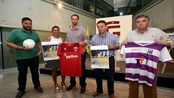 Presentación de la V Copa Diputación de fútbol sala