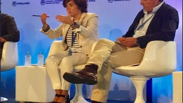 """Santamaría: """"Arribarem a un acord de finançament si tenim un compromís entre partits i administracions"""""""