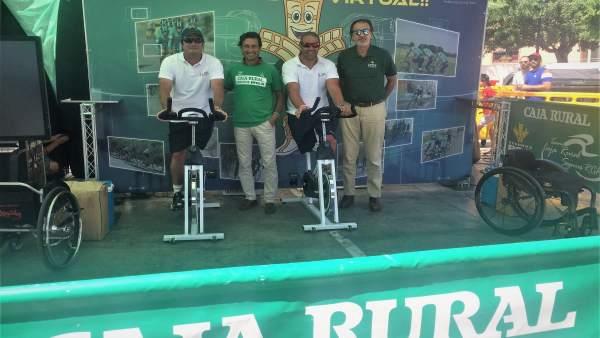 550 Kilómetros De Pedaladas Solidarias Con Caja Rural Del Sur Y Rga Seguros