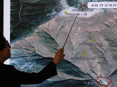 Sexto ensayo atómico de Corea del Norte