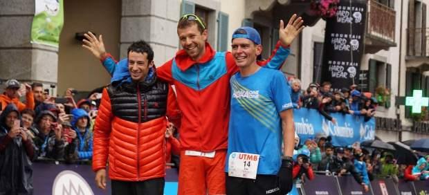 D'Haene, Kilian Jornet y Tim Tollefson