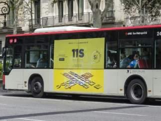 Autobús urbano en Barcelona