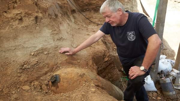 Bomba de la Segunda Guerra Mundial hallada en Coblenza