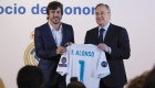 Fernando Alonso, socio de honor del Real Madrid