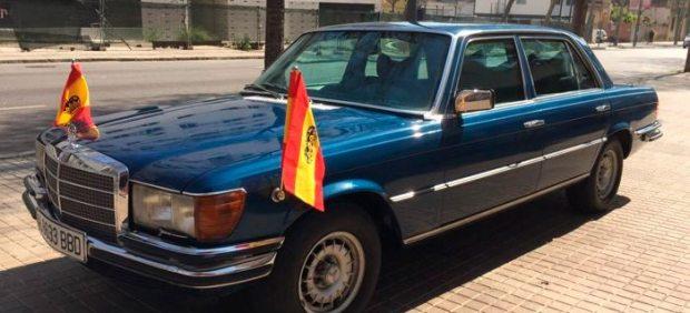 Mercedes-Benz 450 SEL blindado