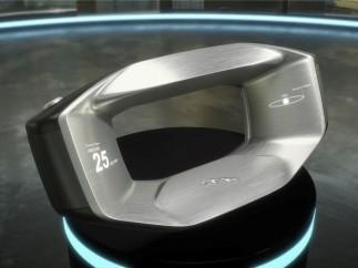 Así será el volante del futuro de Jaguar