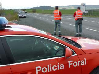 Control de la Policía Foral