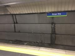 La estación de Metro de Gran Vía cerrará ocho meses