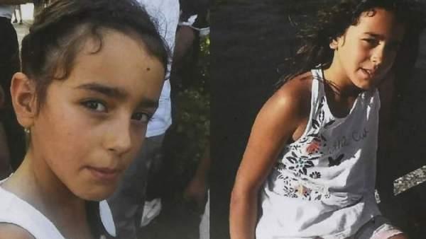 Cartel de búsqueda niña desaparecida en Francia