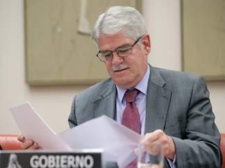 Alfonso Dastis, en el Congreso de los Diputados